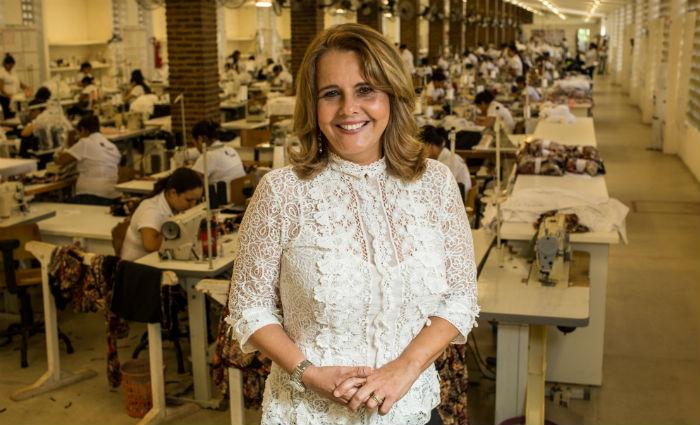 Mércia Moura iniciou a confecção em 1985 e hoje atende a todo o país e também já iniciou exportação. Foto: Rodrigo Lobo/Divulgação (Foto: Rodrigo Lobo/Divulgação)