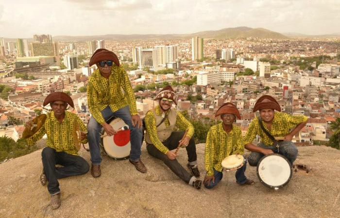 A banda é considerada Patrimônio Cultural de Caruaru. Foto: Nadinelson Oliveira/Divulgação