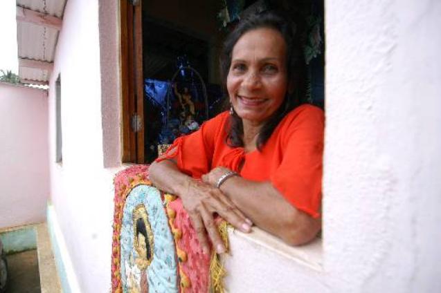 Ana Lucia Nunes, fundadora do Acorda Povo do Amaro Branco. Foto: Jaqueline Maia/DP