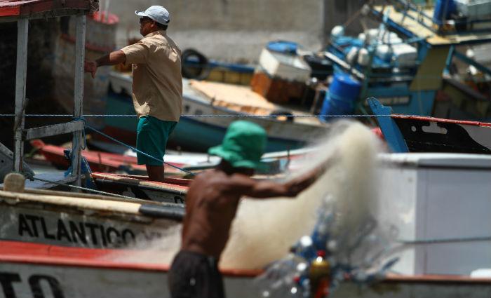 Em Pernambuco, entre 2013 e 2017, mais de cinco mil pescadores solicitaram o registro e não foram atendidos. Foto: Peu Ricardo/DP (Foto: Peu Ricardo/DP)
