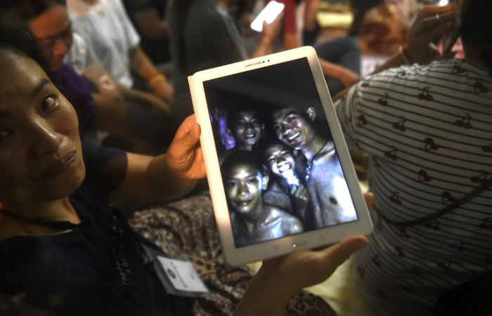 Foto: LILLIAN SUWANRUMPHA / AFP
