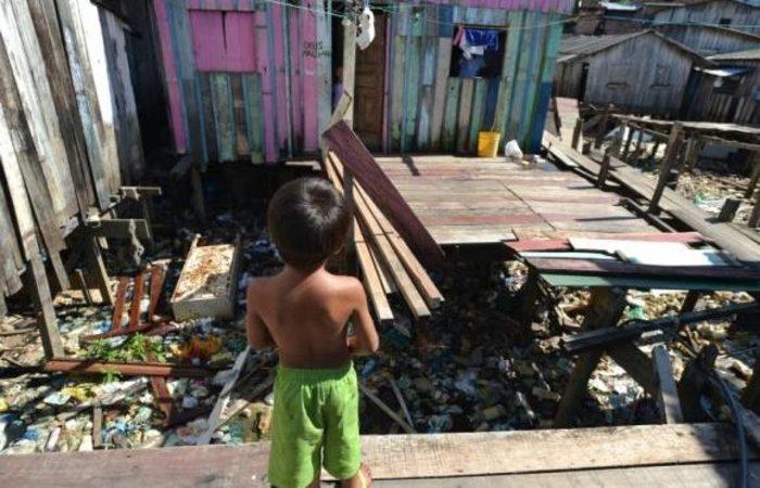 Desigualdade social significativa no país seria uma dos fatores de manutenção da corrupção. Foto: Marcelo Camargo/Agência Brasil