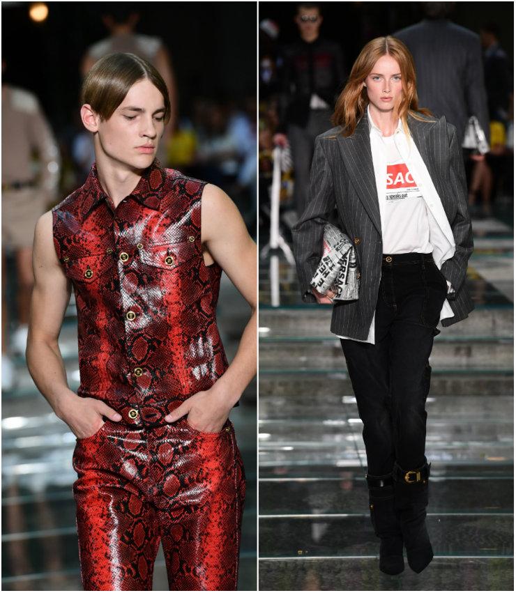 Grifes como Dolce&Gabbana, Prada, Fendi e Giorgio Armani permaneceram fiéis ao evento. Foto: Miguel Medina/AFP