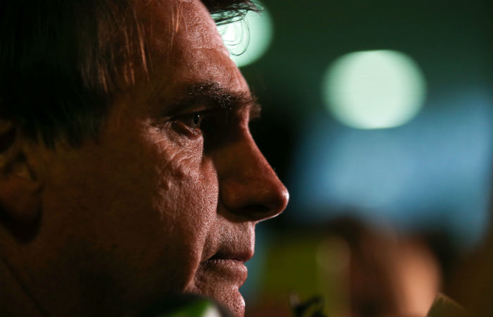 Bolsonaro enfrenta dificuldades para compor alianças desde que assumiu a disposição de concorrer Foto: Fábio Rodrigues Pozzebom / Agência Brasil