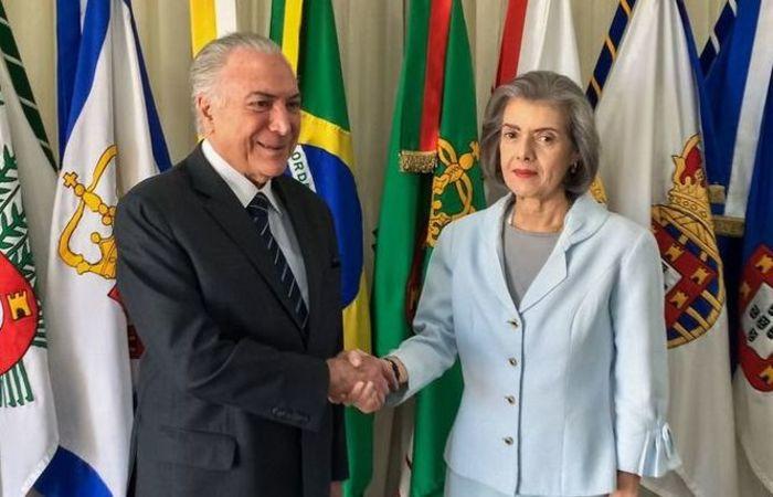 Essa é a quarta vez que ela comanda o país desde o início do período eleitoral e vem se notabilizando pela discrição. Foto: Cesar Itiberê/PR/Agência Brasil