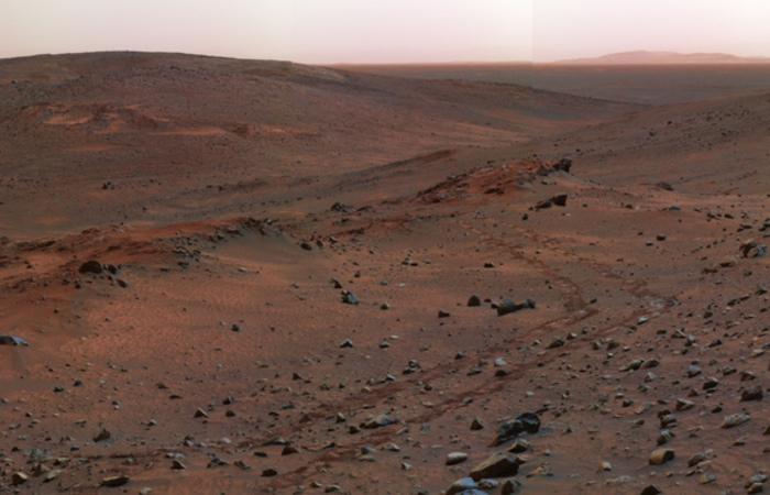 A nova descoberta aumenta as probabilidades de que formas microscópicas de vida existam ou tenham existido em Marte. Foto: Reprodução/Internet