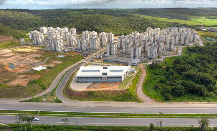 Empreendimento no município engloba 17 condomínios, além de um clube de lazer e um shopping. Foto: Pernambuco Construtora/Divulgação
