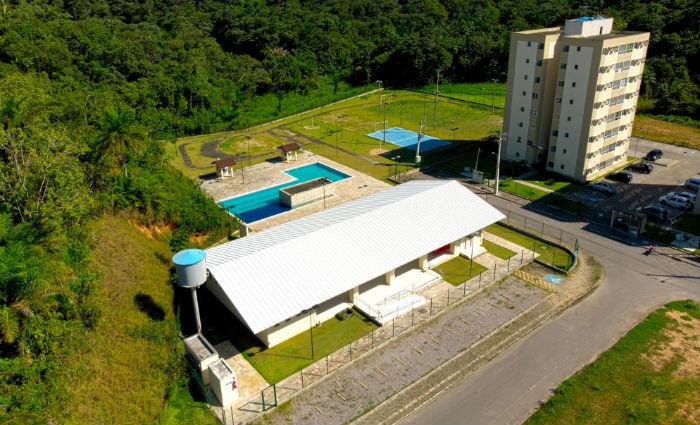 Bairro planejado conta com área de lazer. Foto: Pernambuco Construtora/Divulgação