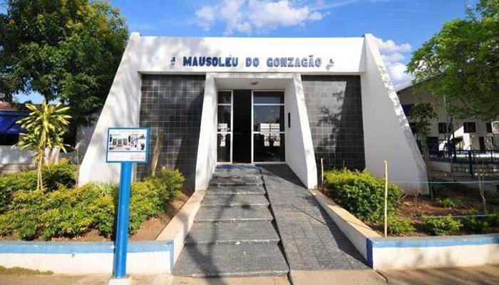 Mausoléu de Gonzagão na cidade de Exu, em Pernambuco. Foto: Alexandre Guzanshe/EM/D.A Press