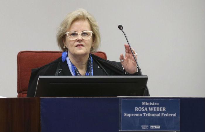 Ministra Rosa Weber Foto: José Cruz / Agência Brasil