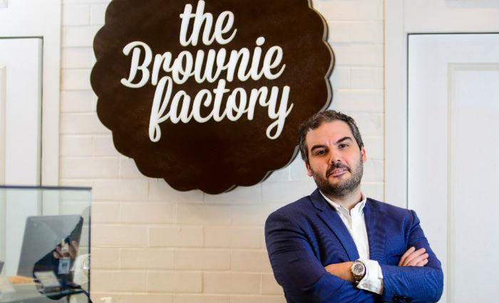 Pedro Sette afirma que The Brownie Factory criou produto específico para a data. Foto: The Brownie Factory/Divulgação