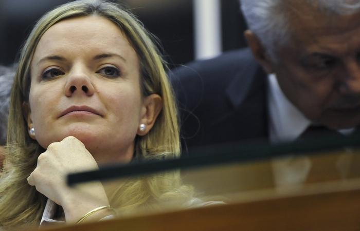 A presidente da sigla, senadora Gleisi Hoffmann. Foto: Agência Brasil (Foto: Agência Brasil)