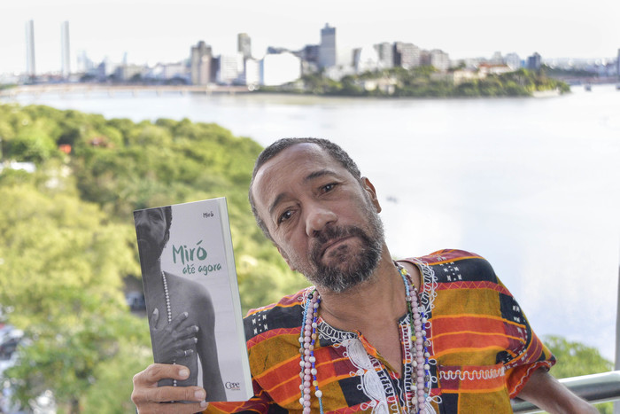 Festival aborda o tema A Cidade do Poeta e o Poeta da Cidade para celebrar a poesia urbana e urgente de Miró. Foto: PCR/Divulgação