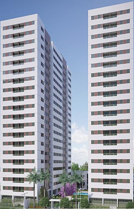 Construtoras enxergam na Várzea um local bom para investir. Foto: Moura Dubeux / Divulgação