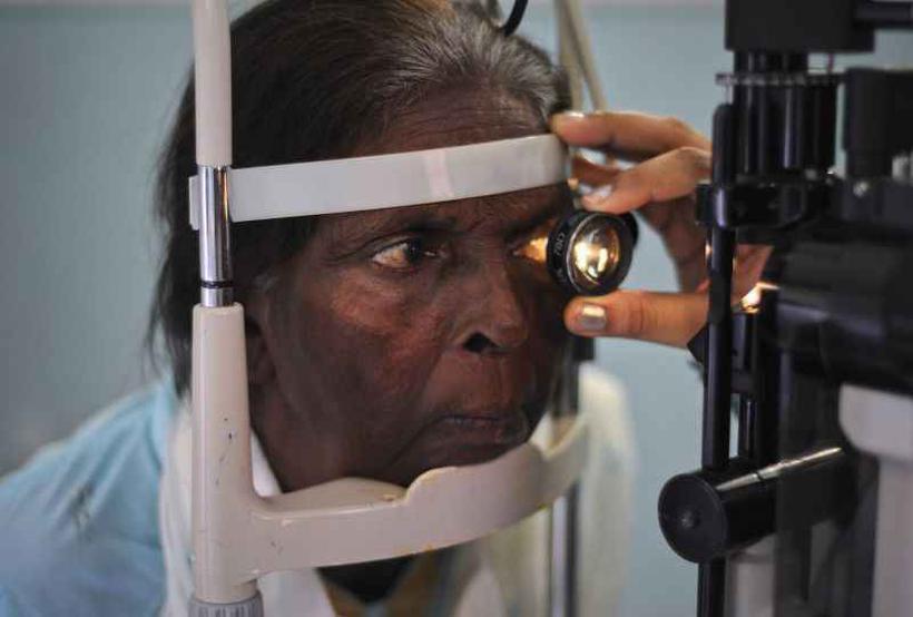 Afinamento da retina está ligada ao neurotransmissor dos movimentos. Foto: Insiya Syed/Reuters