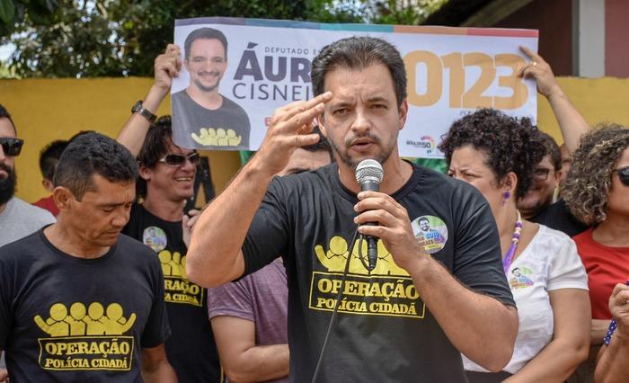 Áureo Cisneiros é contra a redução da maioridade penal. Foto: Lucas Tiné