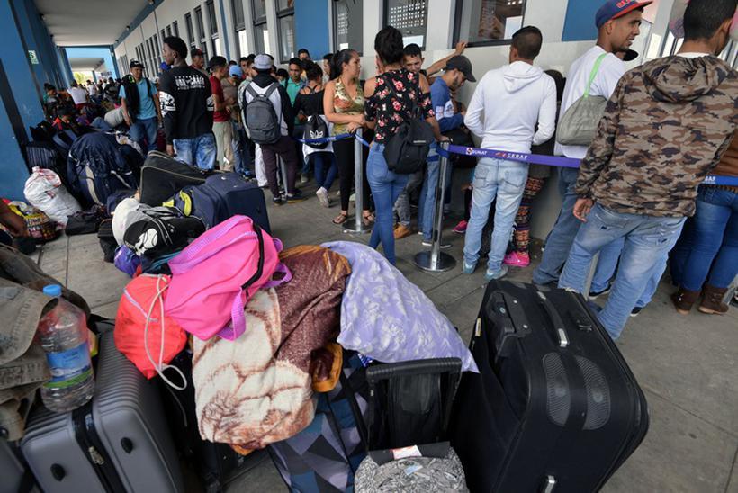 As Nações Unidas pediram, na quinta feira (23/8) que os países sul-americanos continuem abertos as vítimas da crise na Venezuela. Foto: Cris Bouroncle/AFP
