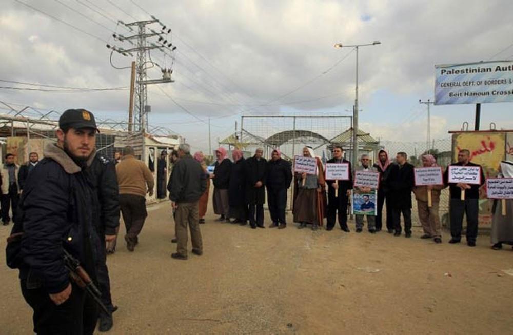 Passagem fronteiriça de Erez, na Faixa de Gaza. Foto: AFP