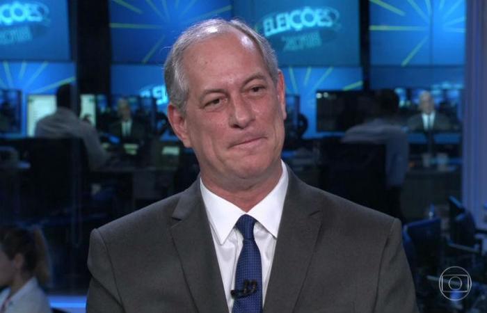 """""""Se eu for eleito, o Carlos Lupi terá no Governo a posição que quiser"""", disse Ciro Gomes. Foto: Reprodução da Internet/TV Globo"""