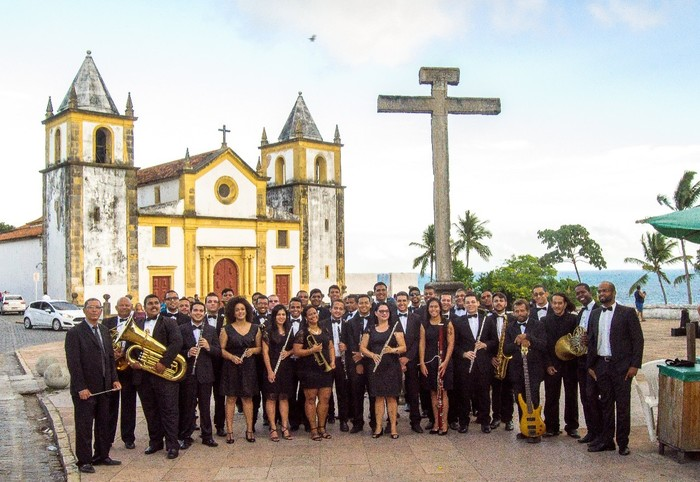 A ideia de gravar um CD da Banda Sinfônica do CEMO era um sonho antigo do maestro Nilson Lopes. Foto: Divulgação