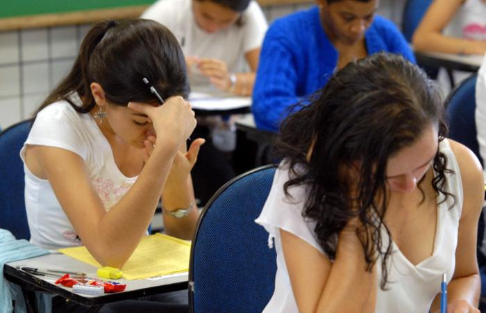 O Brasil conseguiu nos anos 1990 e 2000 uma grande inclusão de alunos na escola, impulsionada por políticas de financiamento público. Foto: Reprodução/Agência Brasil
