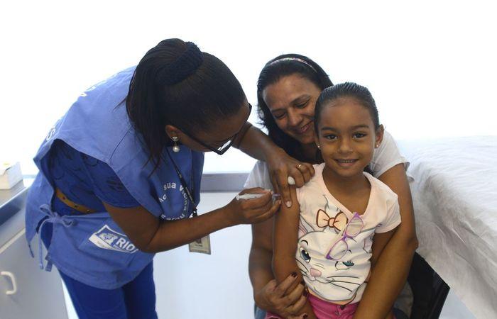 Crianças menores de cinco anos devem ser vacinadas. Imagem: Arquivo/DP