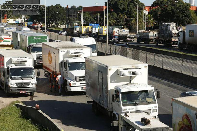 Os reflexos da greve dos caminhoneiros deve se estender no terceiro trimestre do país, que continuará em ritmo mais lento. Foto: Tomaz Silva/Agência Brasil