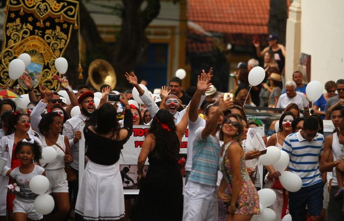 Doutores da Felicidade estiveram durante o carnaval no Hospital do Câncer. Imagem: arquivo/DP