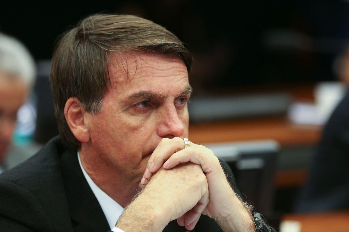 Bolsonaro já é réu em outras duas ações penais, pelos crimes de injúria e incitação ao crime de estupro. Foto: Marcelo Camargo/ Agência Brasil