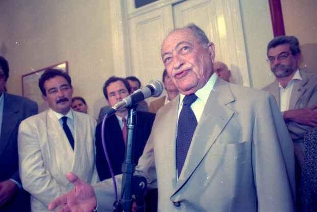 Ex-governador Miguel Arraes. Foto: Teresa Maia/DP/D.A. Press/Arquivo