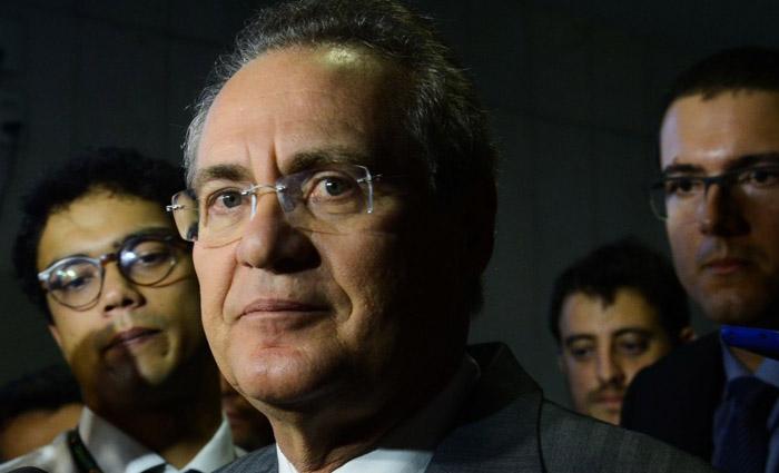 Renan Calheiros é réu no STF por suspeitas de desviar recursos públicos de verbas indenizatórias do Senado. Foto: Antonio Cruz/Agência Brasil
