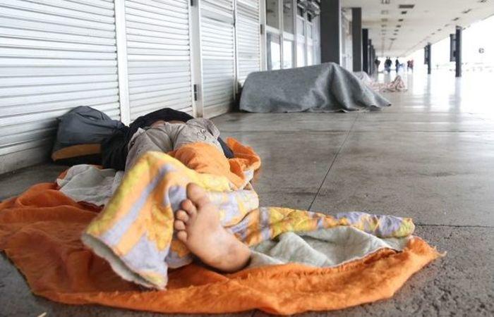 o 1º Censo e Pesquisa Nacional sobre População em Situação de Rua e apontou um total de 31.922 pessoas nessa situação (Foto: José Cruz/Agência Brasil)