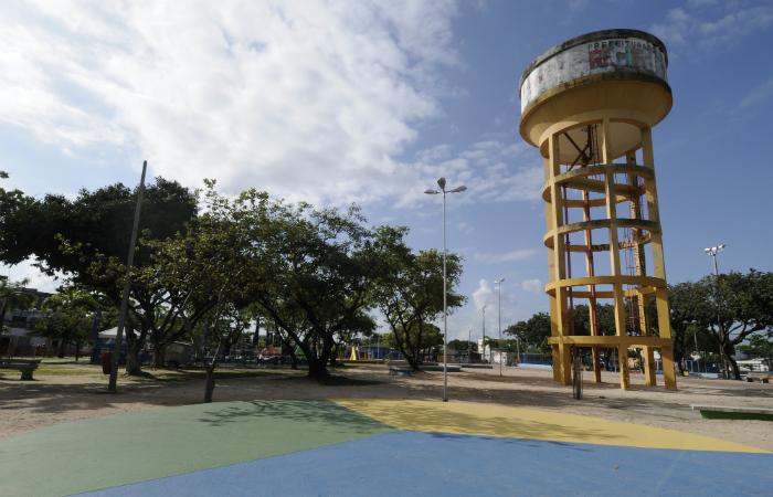Praça Robert Kenedy, símbolo no IPSEP. Foto: Guilherme Verissimo/Esp DP/DA Press
