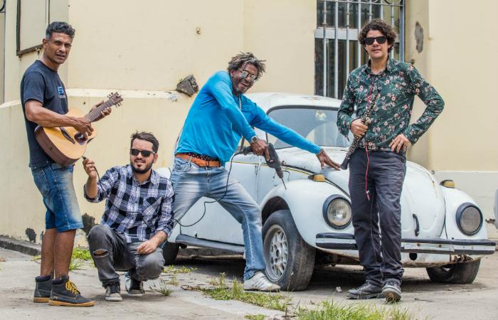 A banda está preparando o primeiro disco de músicas autorais para 2019. Foto: Camila Pífano/Esp. DP