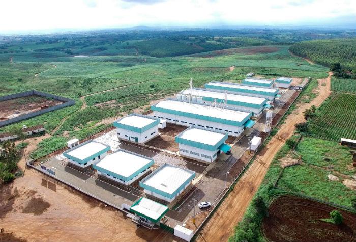 Nova unidade possui um galpão autorizado para a fabricação de produtos agropecuários, um novo mercado. Foto: Chemone/Divulgação