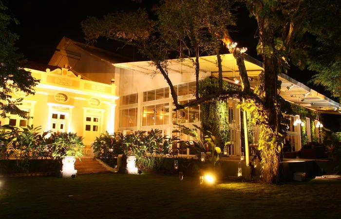 Arcádia é uma das casas de festa imponentes da região. Foto: Arcádia/Divulgação
