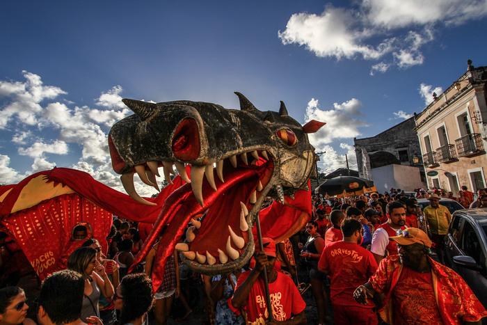 As agremiações propõem a união de blocos carnavalescos pela democracia e pretendem se espalhar pelas ladeiras da Cidade Alta. Foto: Paulo Paiva/DP