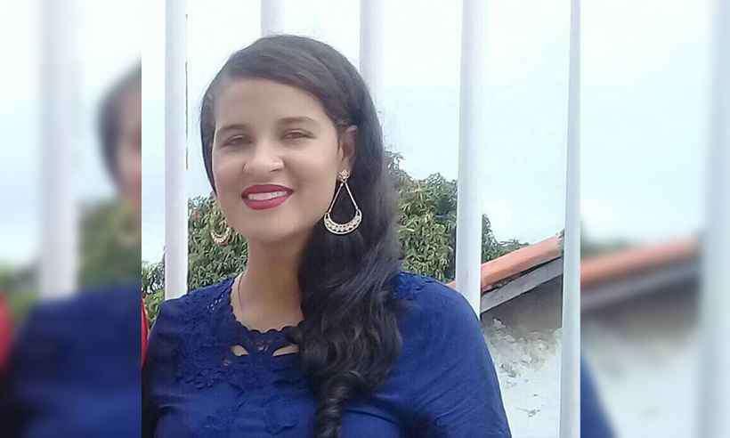 Mara foi morta e teve a bebê arrancada à força. Foto: Reprodução/Facebook