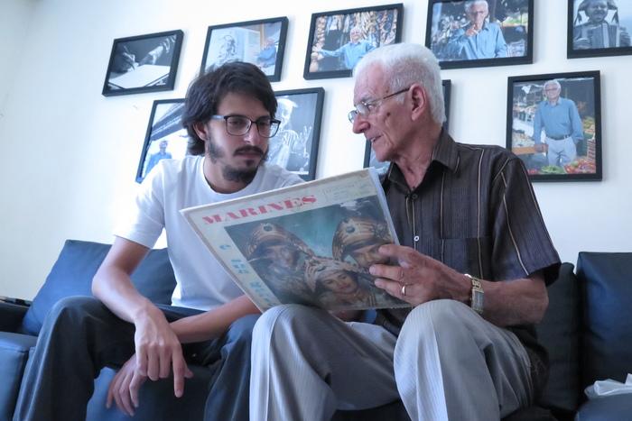 Cena do documentário Groove Man, de Hélder Lopes e Cláudio Bezerra, sobre Onildo Almeida o compositor da música A Feira de Caruaru. Foto: Divulgação