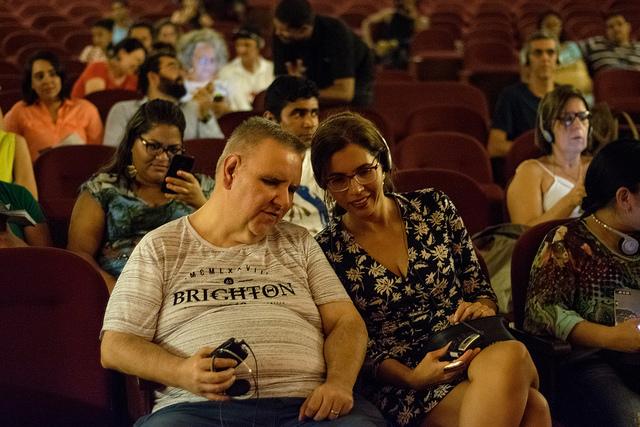 Festival promove sessões acessíveis e espaços formativos desde 2014 no Recife. Foto: Manuela Salazar/Divulgação