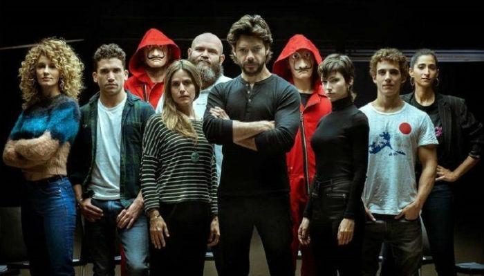 Elenco da terceira temporada aparece no vídeo de 50 segundos. Foto: Netflix/Divulgação.