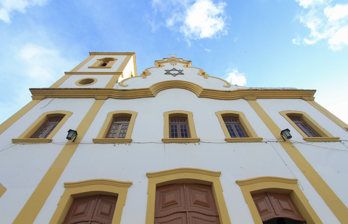 Igreja construída no início do século 20 sedia missa nas terças-feiras, sábados e domingos. Foto: Marina Curcio/ESP. DP