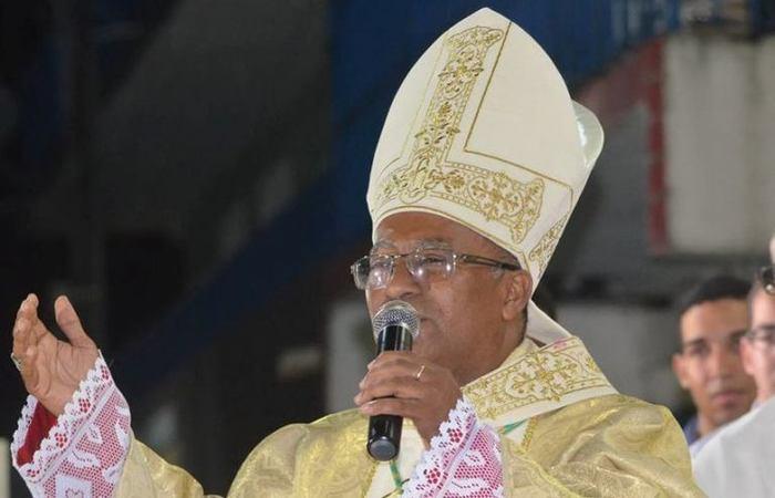 Dom Limacêdo Antônio da Silva. Foto: Reprodução/Diocese de Nazaré