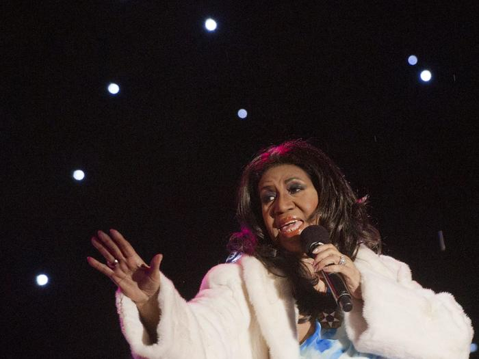 Período de ouro da carreira de Aretha Franklin é revisitado no álbum The Atlantic singles collection. Foto: Saul Loeb/AFP