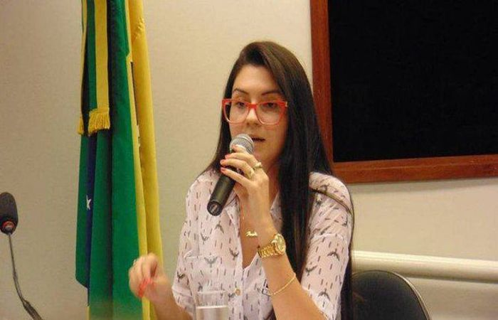 A deputada estadual eleita por Santa Catarina Ana Caroline Campagnolo - Câmara dos Deputados/Divulgação