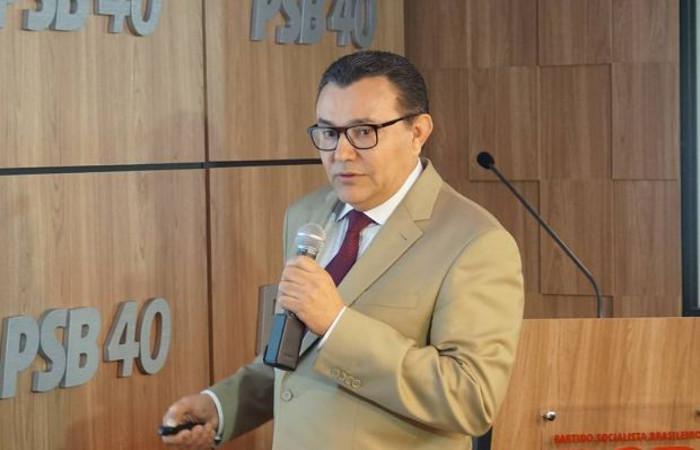 Presidente do PSB, Carlos Siqueira. Foto: Reprodução/Facebook