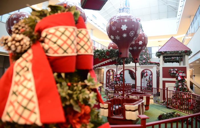 9cc814472de1 Decoração de Natal é uma atração a mais para os consumidores do estado.  Foto:
