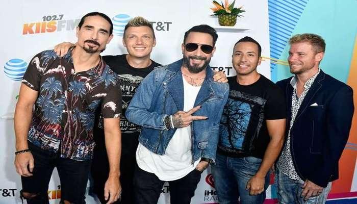 O famoso grupo Backstreet Boys vem com novidades para 2019. Foto: Frazer Harrison/AFP
