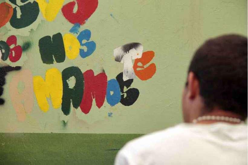 Jovem infrator no Centro de Atendimento Juvenil Especializado. Foto: Ana Rayssa/Esp. CB/D.A Press
