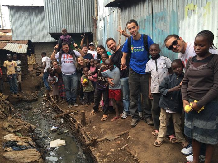 Viagem para fazer voluntariado em Nairóbi, no Quênia - Biblioteca e projeto Kibera Talking. Crédito: Talita Guedes/Arquivo Pessoal (Credito: Talita Guedes/Arquivo Pessoal)
